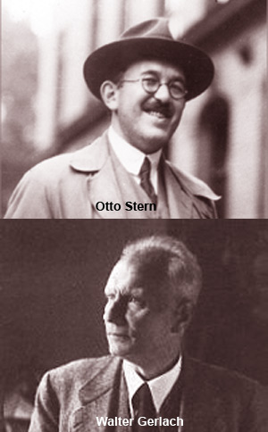 Otto Stern and Walther Gerlach